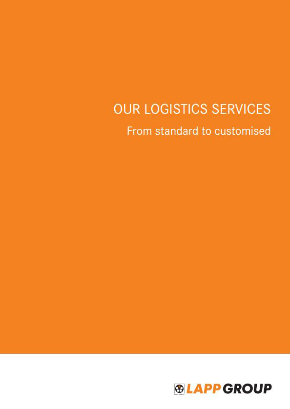 Logistics Catalogue Cover