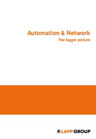 Automation & Network - The Bigger Picture Catalogue Cover