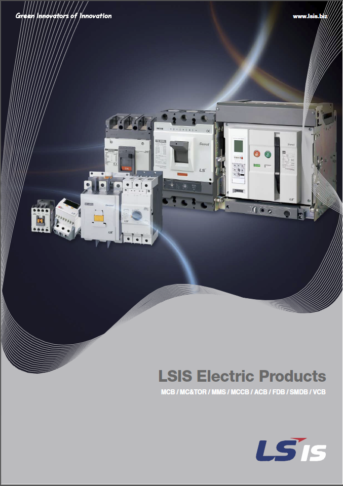 LS Electric Products Catalogue Catalogue Cover
