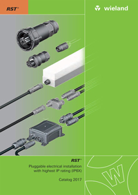 Pluggable Electrical Installation with Highest IP Rating 2017 Catalogue Cover