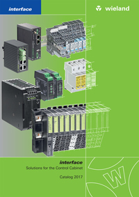 Wieland Interface Solutions 2017 Catalogue Cover
