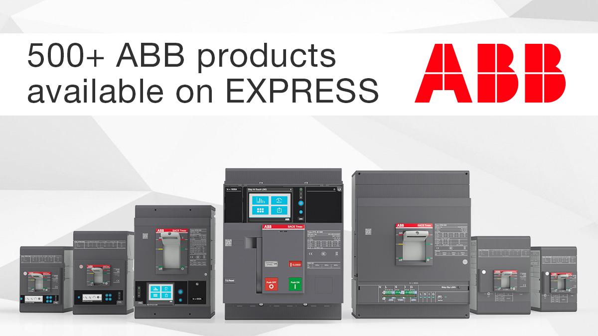500 ABB Products Now Available from ECS