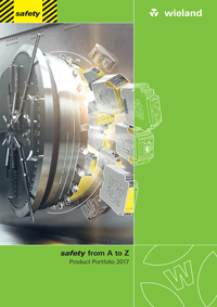 Wieland Safety Product Portfolio 2017 Catalogue Cover